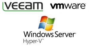 veeam vmware hyperv